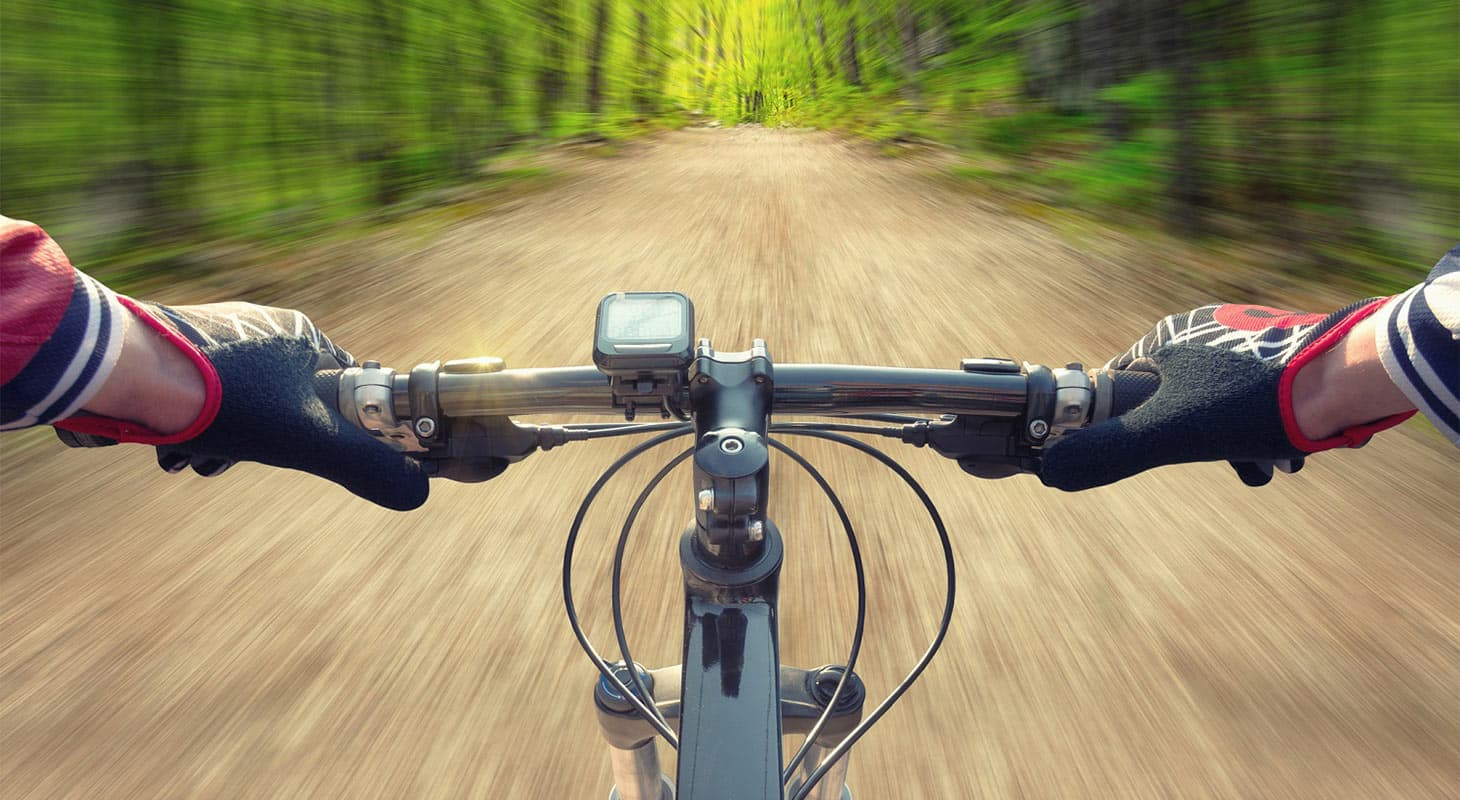 Bicycle on Trail
