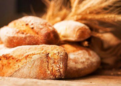 Freshly baked bread from Sierra Rizing Bakery