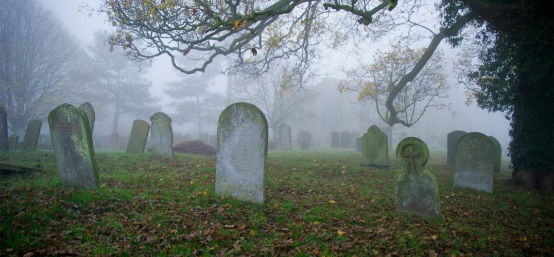 Ghost tours cemetery