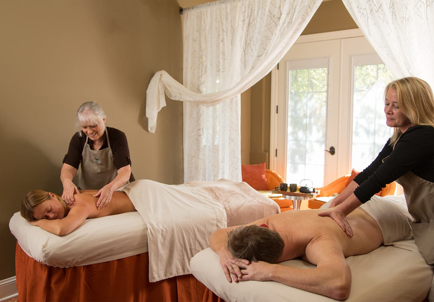 Couples Massage in our California Spa