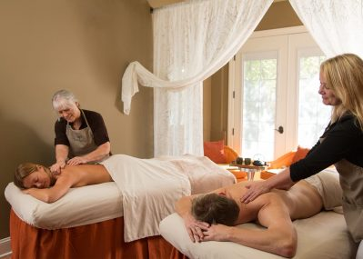 Couples massage in our Placerville Spa