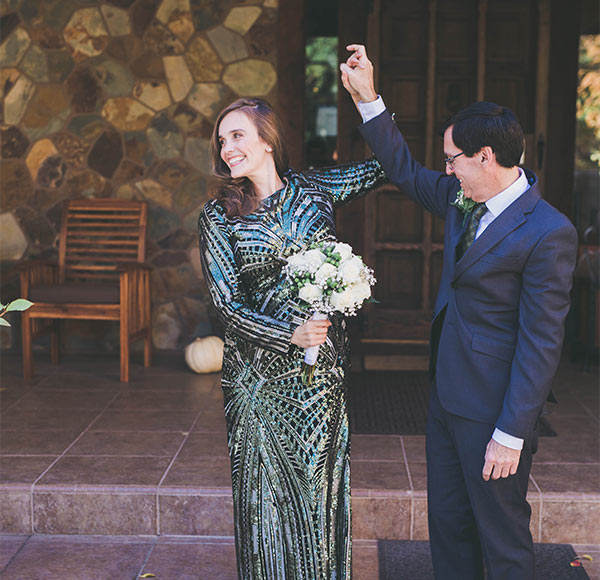 Elopement Couple First Look