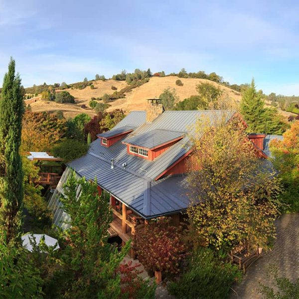 Aerial view of our Front Facade