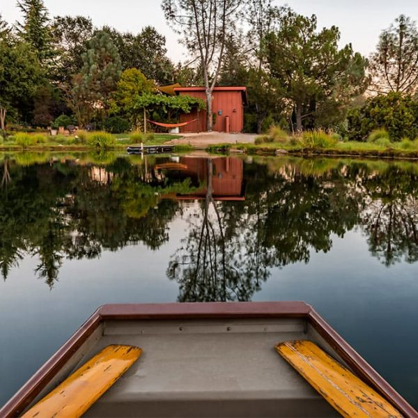 Rowboat on the Pond