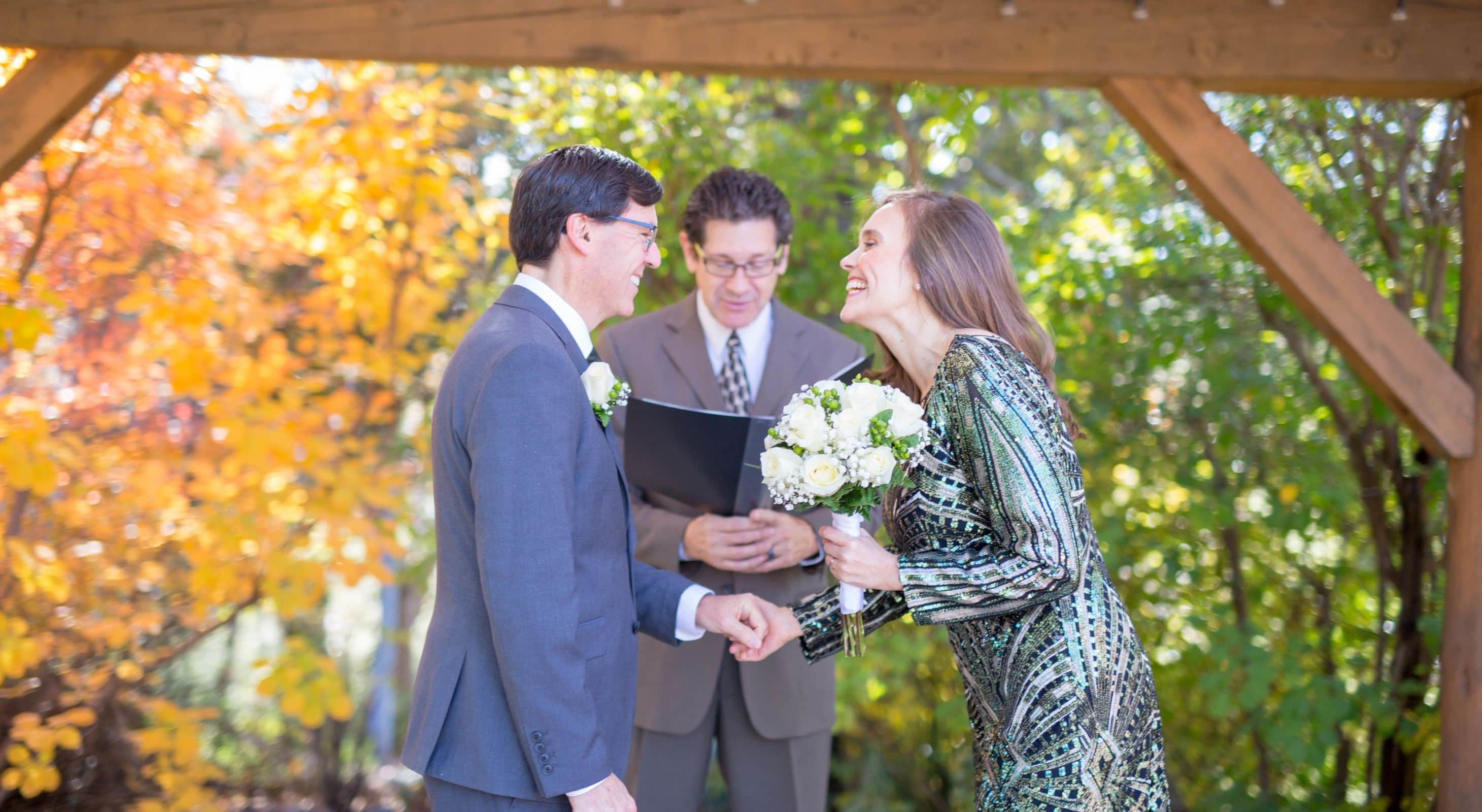 Fall Wedding in Placerville CA