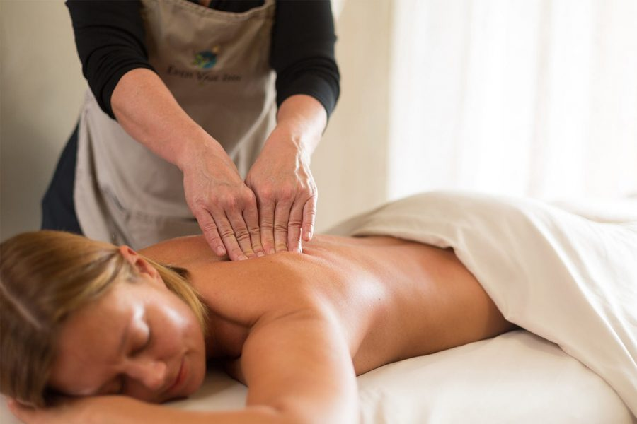Relaxing massage at our Placerville bed and breakfast
